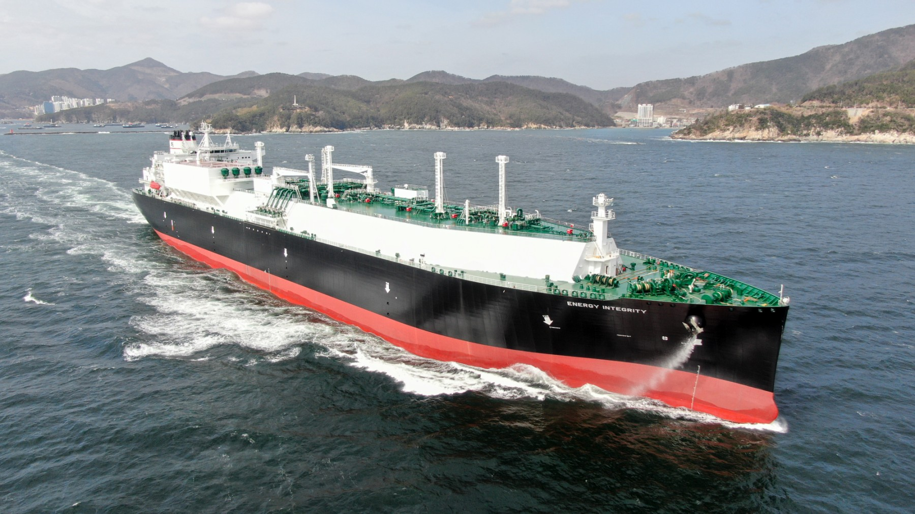 LNG Energy Integrity Delivery